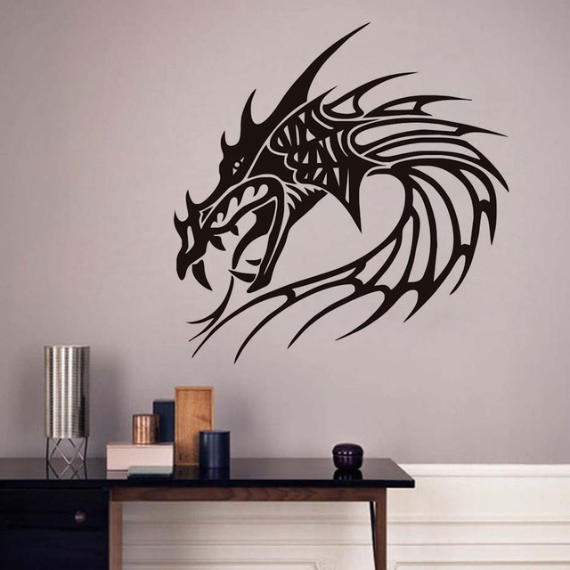 Free Shipping China Style Chinese Dragon Sticker Wall Decals Home Decor  Rooms Decoration Vinyl Art Design