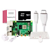 Latest! Raspberry Pi 4 Model B Official Desktop Kit 4GB RAM of LPDDR4 SDRAM 1.5GHz 64-bit Quad-core