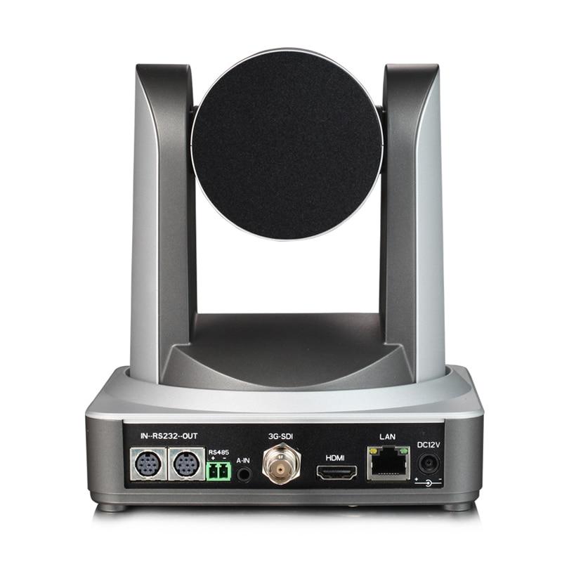 Image 3 - 2MP Full HD внутренняя вещательная Цифровая видеокамера PTZ 20x оптический зум 1920x1080 при 60fps HDMI 3G SDI IP POE 54,7 градусов FOV-in Камеры видеонаблюдения from Безопасность и защита