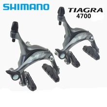 Wholesale prices Shimano 2016 NEW BR 4700 Tiagra Caliper Brake Using for Road Bicycles Brake System Bikes Components Parts