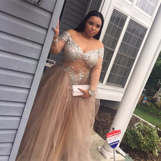 Saudi Arabia Gold Sequined Plus Size   Prom     Dresses   A-Line V-Neck Pleats Cheap Party Formal Gowns Long Sparkling Vestido Formatura