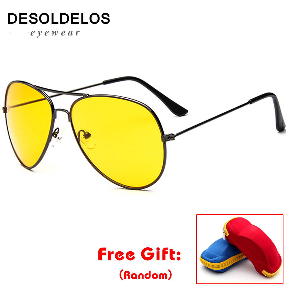 2019 Sunglasses Mens Vintage Ms. Frame Glare Pilot Aviation 19 Color Driving Eye Glasses