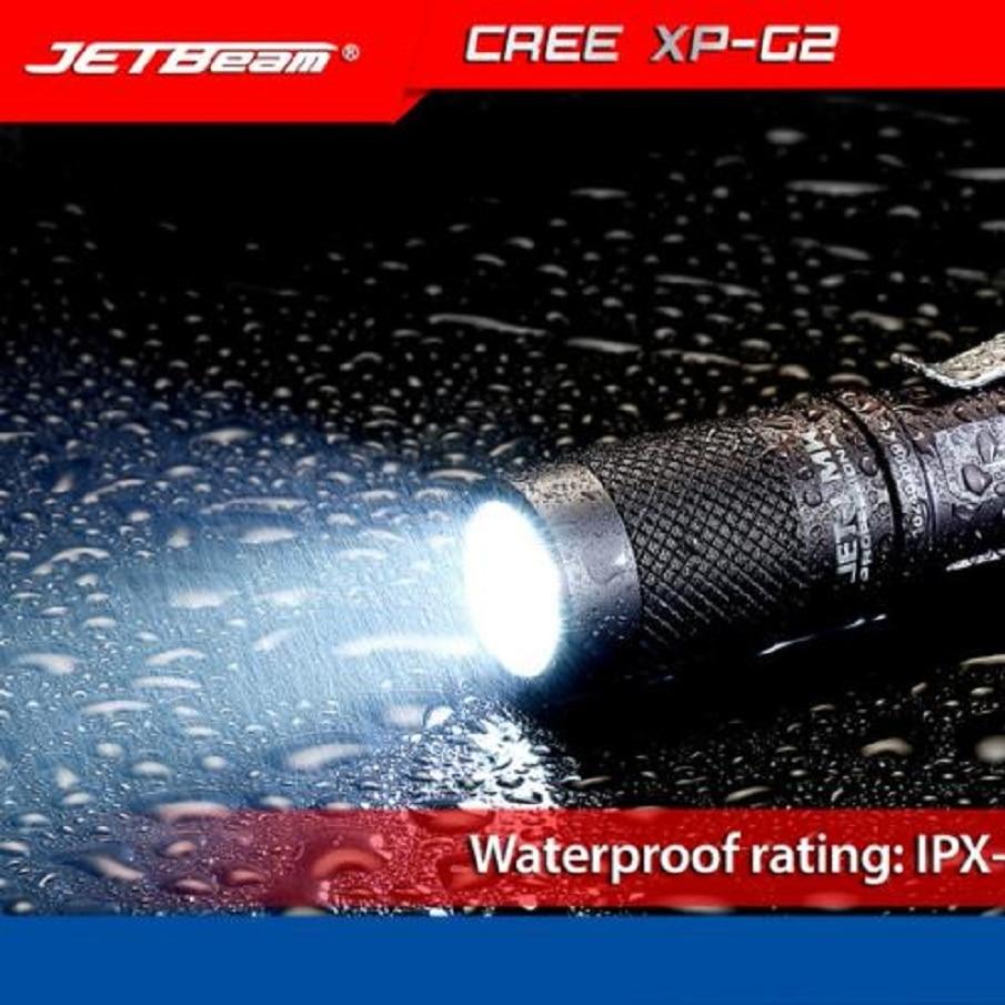 JA 17 Shining Hot Selling Fast Shipping JETbeam JET-1 MK Cree XP-G2 480 Lumens Mini Portable Waterproof LED Flashlight видеорегистратор jet ja vr2 witness