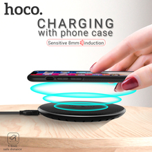 hoco wireless charger 5W output charging pad for Apple iPhone Samsung Xiaomi phone base desktop mat adapter