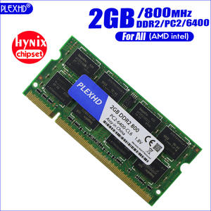 PLEXHD pc2 2G 2 GB DDR2 800 MHZ 6400 800 Mhz 2RX8 Laptop Memory 2G pc2-6400S ddr2