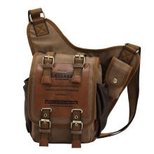 Popular Vintage Travel Practical Military Canvas Shoulder Crossbody Chest Bag High Quality