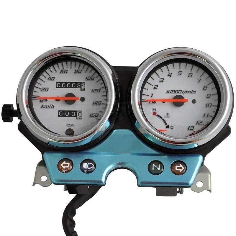 Motorcycle LED Electronic Tachometer Speedometer Odometer Accessory Gauge Kit for Honda VTR250 VTR 250 2004 2005 2006 2007 05 06