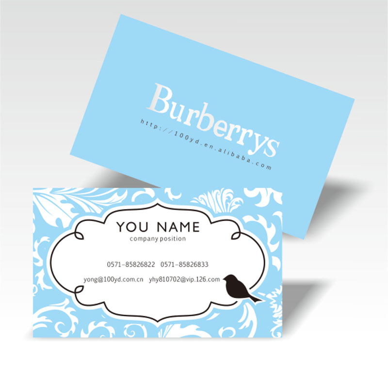 custom Business Cards Elegant paper Bussiness Card printing color ...