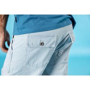 Image 4 - Мужские шорты карго SIMWOOD, повседневные высококачественные джинсы в Вертикальную Полоску из 100% хлопка, 190005