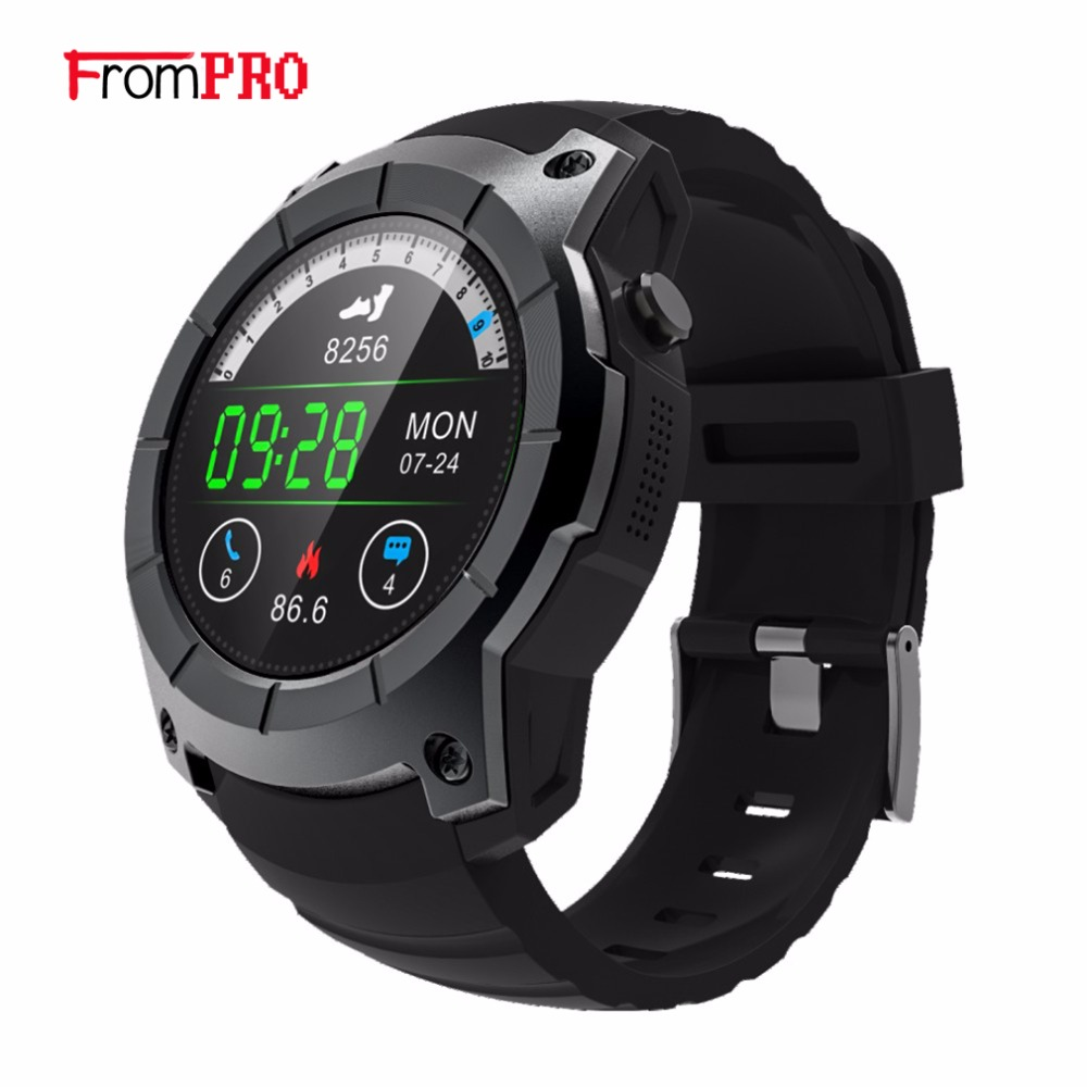 FROMPRO 2018 GPS Sports Watch S958 MTK2503 Heart rate monitor Smartwatch multi-sport model smart watch for Android IOS phone smartch s958 smart watch sport waterproof heart rate monitor gps 2g sim card calling all compatible smartwatch for android ios c