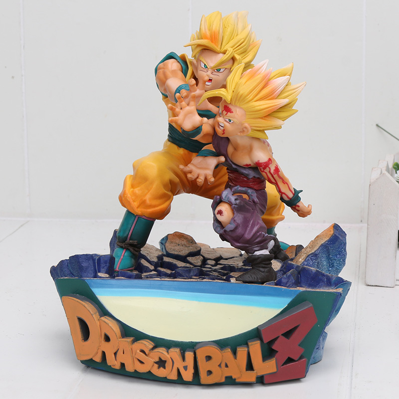 Dragon Ball Z Father And Son Kamehameha Vs Cell Figure Goku Gohan PVC figure Toy Christmas Gifts Dragon Ball Z Father And Son Kamehameha Vs Cell Figure Goku Gohan PVC figure Toy Christmas Gifts