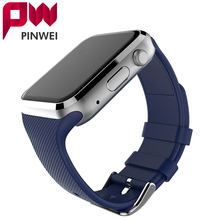 PINWEI Bluetooth Smart Watch Smartwatch WristWatch Wearable Devices For Android Phone With Camera Support SIM Card PK DZ09 GT08