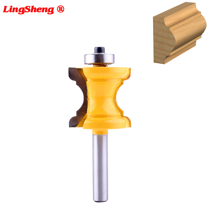 8mm Shank Bullnose Bead Column Face Molding Router Bit For Woodworking Tools