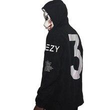 59fc2fbef Drop Shipping Kanye West Y3 Season 3 Windbreaker Men Women Hip Hop Fashion  Outwear US Size
