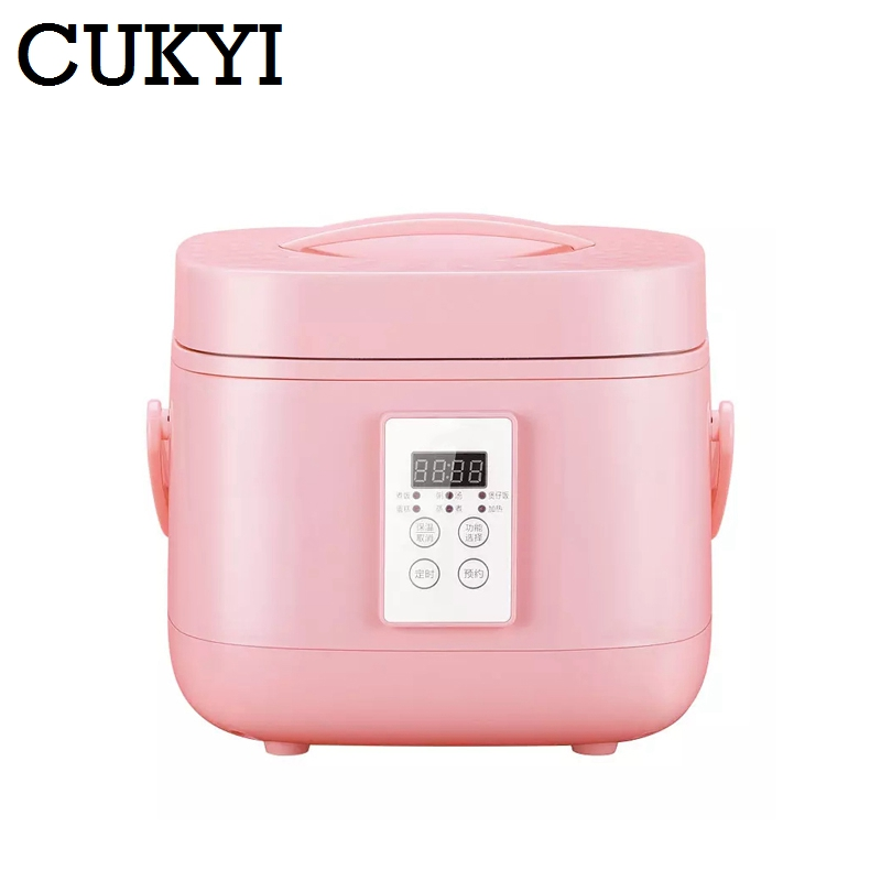 CUKYI Intelligent electric rice cooker 3 l household automatic mini rice cooker 2-5 Heat Preservation Cake Rice Cooking rice mill mini type intelligent household brown rice milling machine zf