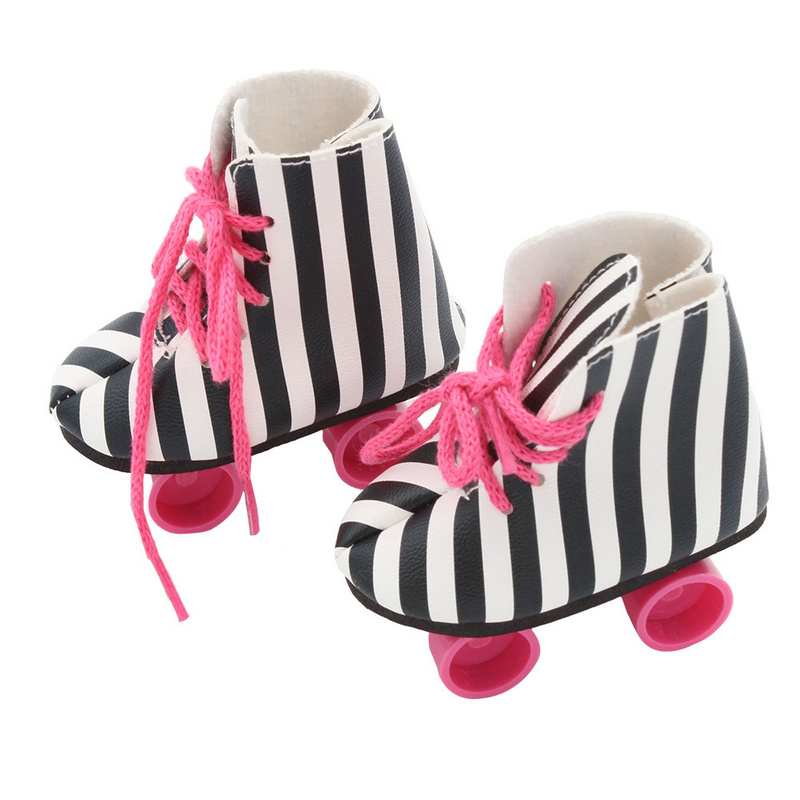 Bjd Doll Shoes 18 inch doll clothes gifts for children Zapf Dolls Accessories american girl doll clothes baby born clothes 43cm 2