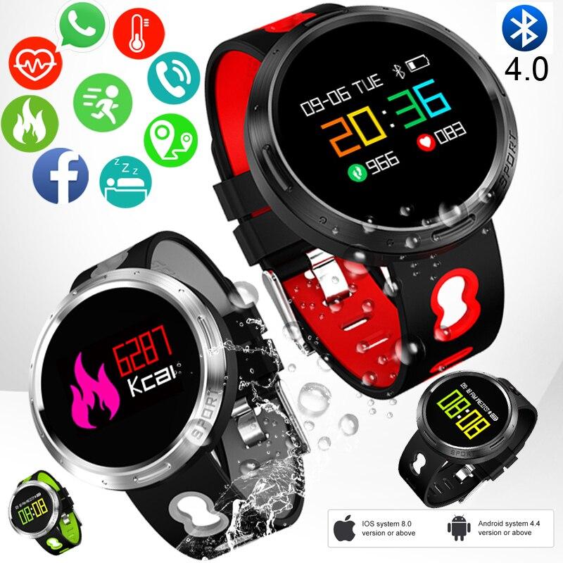 BANGWEI 2018 Nouveaux Hommes montre de sport intelligente Femmes horloge led Pression Artérielle moniteur de fréquence cardiaque Fitness Podomètre Bluetooth montre connectée