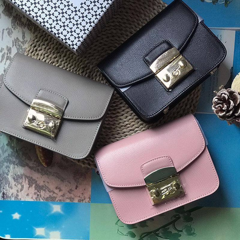 Luxe Beroemde Merk Fashion Echt real leather lady Schoudertassen Vrouw Handtassen messenger crossbody tassen Designer Totes flap-in Top-Handle tassen van Bagage & Tassen op  Groep 2