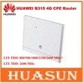Original desbloqueado 150 mbps huawei b315 4g lte cat4 cpe roteador sem fio wi-fi do dispositivo até 32 usuários pk b593s-22
