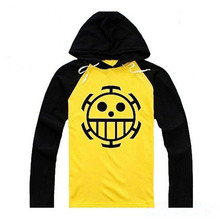 Anime ONE PIECE Trafalgar D Water Law Cute Hoody Autumn Spring Thin Cotton Casual Hoodie Cosplay