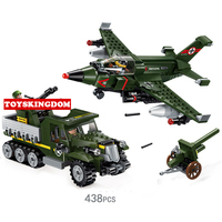 Hot Ww2 Air War Building Block Military Fighter M31 Armored Vehicle Artillery Bricks Army Airforce Figures