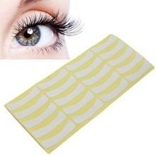 Бумажные наклейки заплатки накладки для ресниц под глаза бумажные