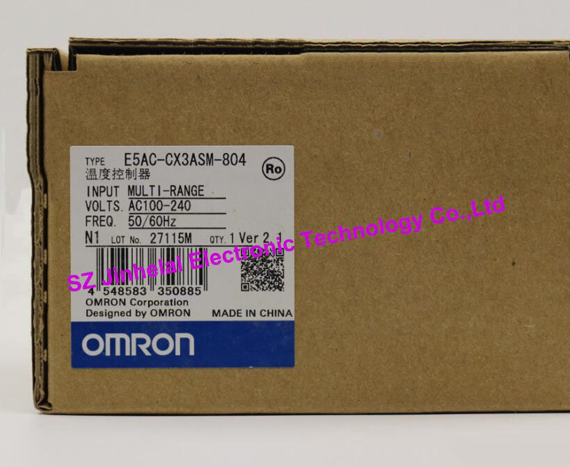 E5AC-CX3ASM-804  New and original  OMRON  Digital temperature controller new and original e3x da11 s omron optical fiber amplifier photoelectric switch 12 24vdc