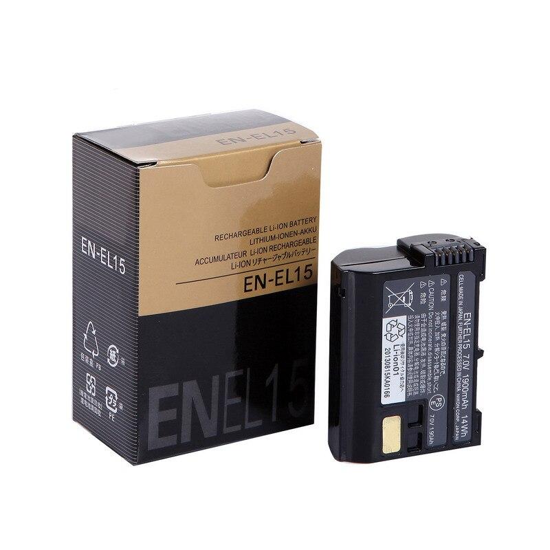 10pc lot EN EL15 batteries EN EL15 Camera Battery pack For Nikon D600 D610 D600E D800