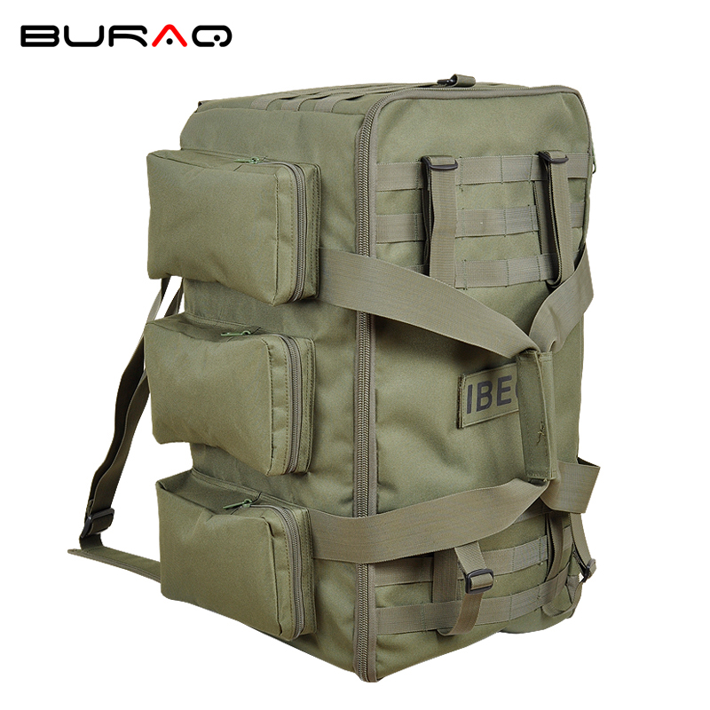 Brand New Hot Large 55L Unisex Travel Multi-purposebig capacity Duffle Molle Male high grade mountaineering bag Rucksacks A8