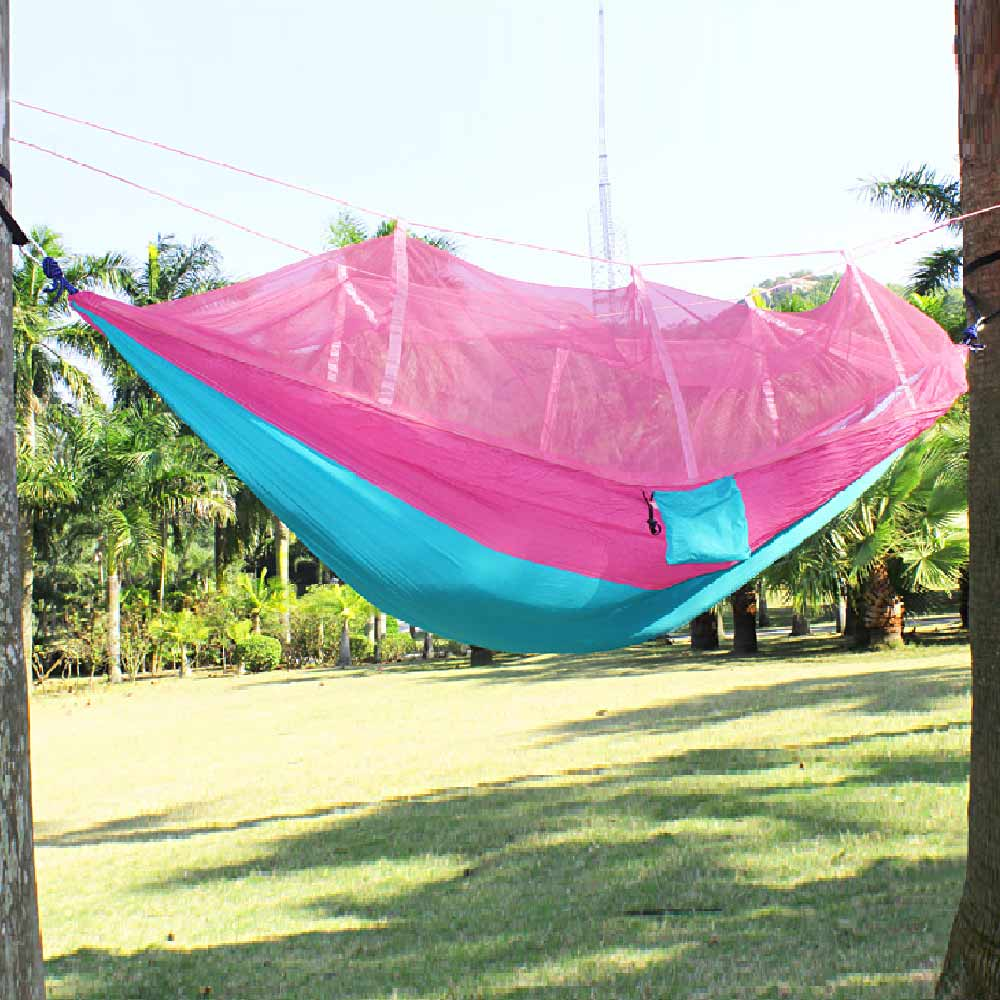 цена на Furniture Portable Anti-mosquito bites Hammock Parachute Fabric Mosquito Net for Indoor Outdoor Camping Using Hanging chair