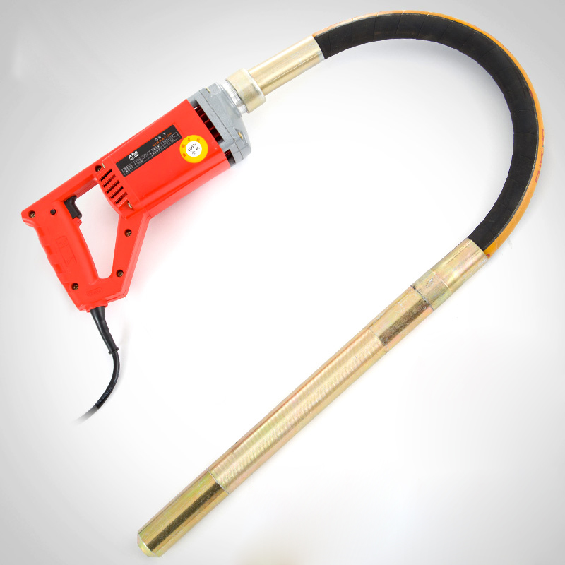 Concrete Vibrator 35mm Stable Voltage 800W/1.3kw/1.75kw Motor Construction Tools with 1m/1.2m/1.5m Tube Simple to Handle