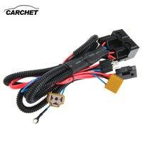 CARCHET H4/9003 reforzador de faro Cable conector de cableado relé fusible enchufe negro H4 faro conector fusible|h4 headlight connector|fuse socketheadlight connector -