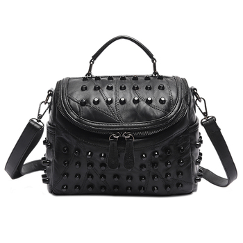 Women Leather Bag Sheepskin Messenger Bags Handbags Women Famous Brands Designer Female Handbag Shoulder Bag Sac