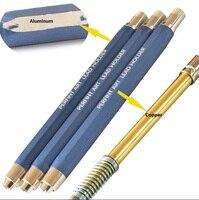 5.6mm Mechanische potloden met vijf dozen 30 leads aluminium automatische potloden school briefpapier vulpotlood gratis verzending