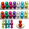 14 Strong Neodymium Noticeboard Skittle Men Pin Magnets Fridge DIY Whiteboard Uses in Office Advertising Education and Other Pur