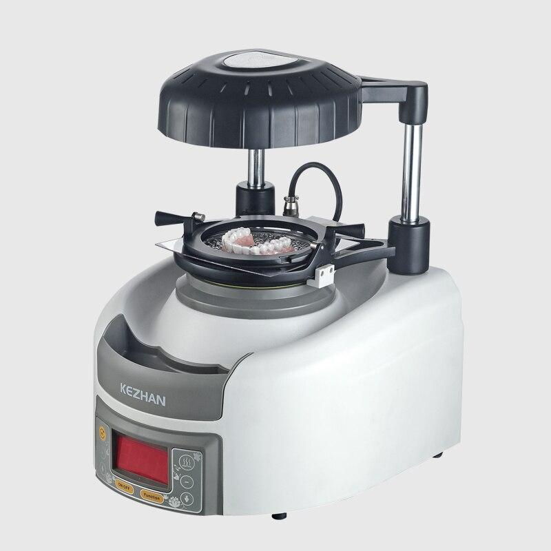 Machine de formage automatique sous vide dentaire unité de moulage sous pression de laboratoire dentaire avec billes en acier et feuille de formage en plastique
