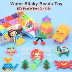 33 цвета 11400 шт. воды Sticky бусины игрушка магия ручной работы DIY бисера бумага интимные аксессуары головоломки игрушечные лошадки для детей