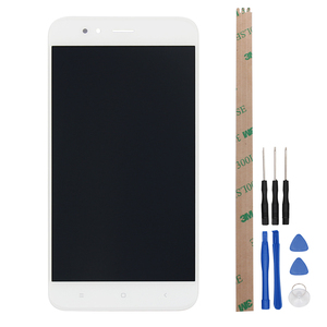 Image 2 - Alesser For XiaoMi Mi A1 Mi 5X LCD Display and Touch Screen+Frame Assembly Repair Parts 5.5 Replacement Phone Accessory +Tools