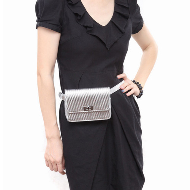 Women Waist Bag Leather Travel Top Fashion Casual Pack Zip Pouch Money Belt
