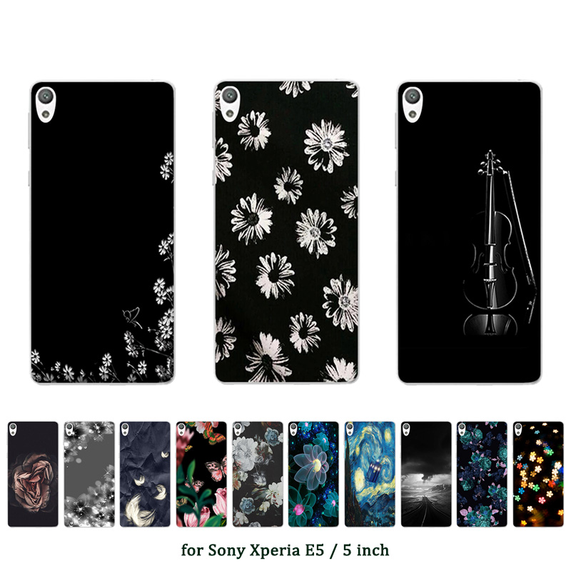 For Sony Xperia E5 Case Silicone Cover for Sony E5 Case Mult