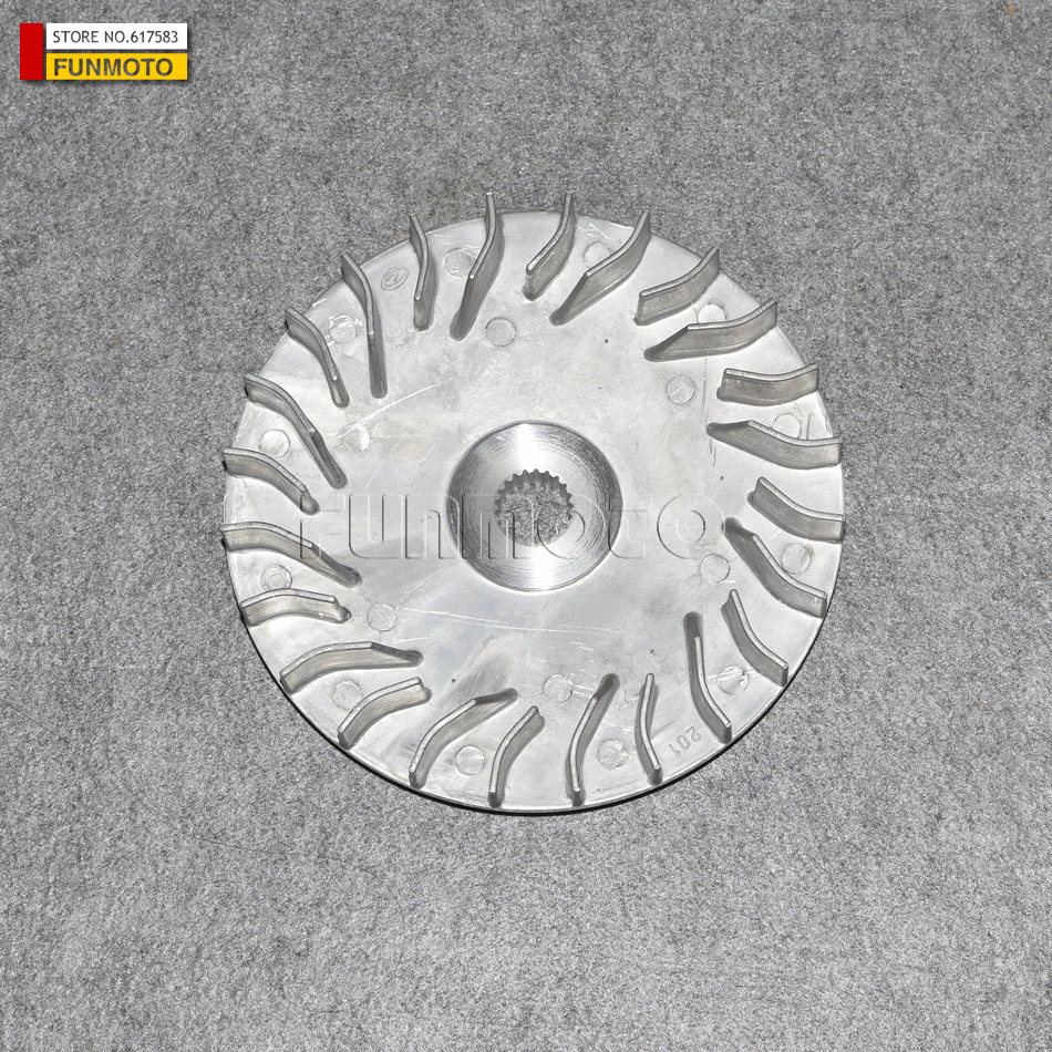 2PCS CLUTCH PRIMARY FIXED SHEAVE OR WHEEL OF HISUN 400/HS400 ENGINE IT ALSO  FIT SUPERMACH MENARDS