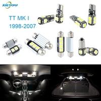 XIEYOU 8 unids LED Canbus Luces Interiores Paquete Kit Para Audi TT MK I (1998-2007)