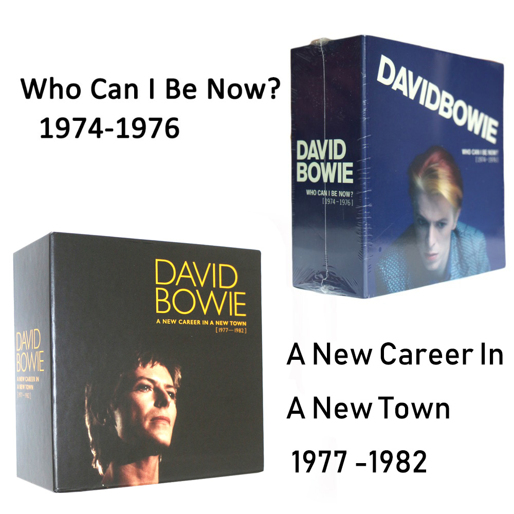 David Bowie Who Can I Be Now(1974 To 1976) +A New Career In A New Town Box Set 1977 -1982 TOTAL 23CD цена и фото
