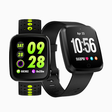 V6 Couple Smartwatch Fitness Tracker Waterproof Sport Bracelet Blood Pressure colorful Wristband Bluetooth 1.3 inch Color Screen