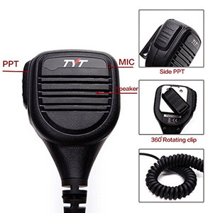 Image 2 - TYT Rainproof Shoulder Speaker Microphone Remote IP54  for TYT MD 380 MD 390 TH UV8000E BaoFeng, AnyTone Walkie Talkie