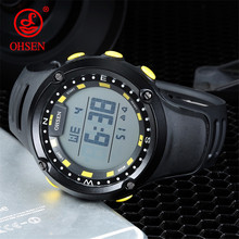 OHSEN Famous Luxury Brand Mens Sport Watches Multifunction Men Waterproof Digital Watch Male Sports Clock Fashion Relojes Hombre(China)