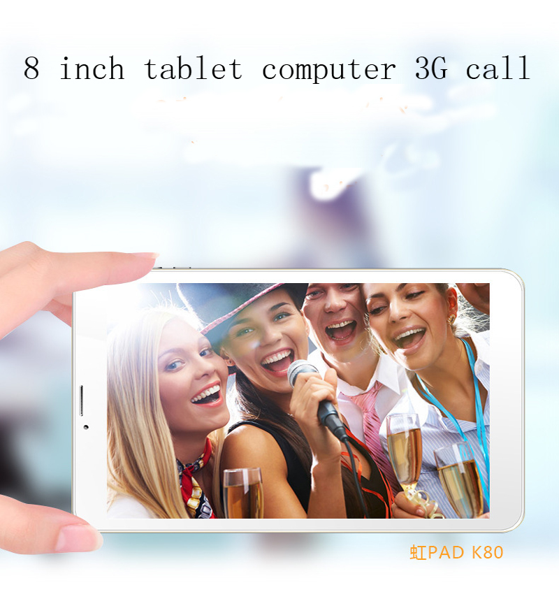 2018 New 8Tablet PC Android 6.0 OCTA core 3G Call 1GB RAM 16GB ROM Wi-Fi Bluetooth GPS HD IPS Tablets PC