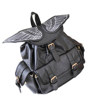 Women Leather Backpack School Bags High Quality PU Leather Woman Backpacks Vintage Sport Style Bolso Mochila