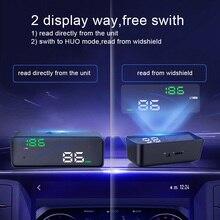 Новые P9 автомобилей HUD Head Up Дисплей OBD Smart Digital метр для большинства OBD2 EUOBD автомобили P9 HD проектор Дисплей приборной панели автомобиля