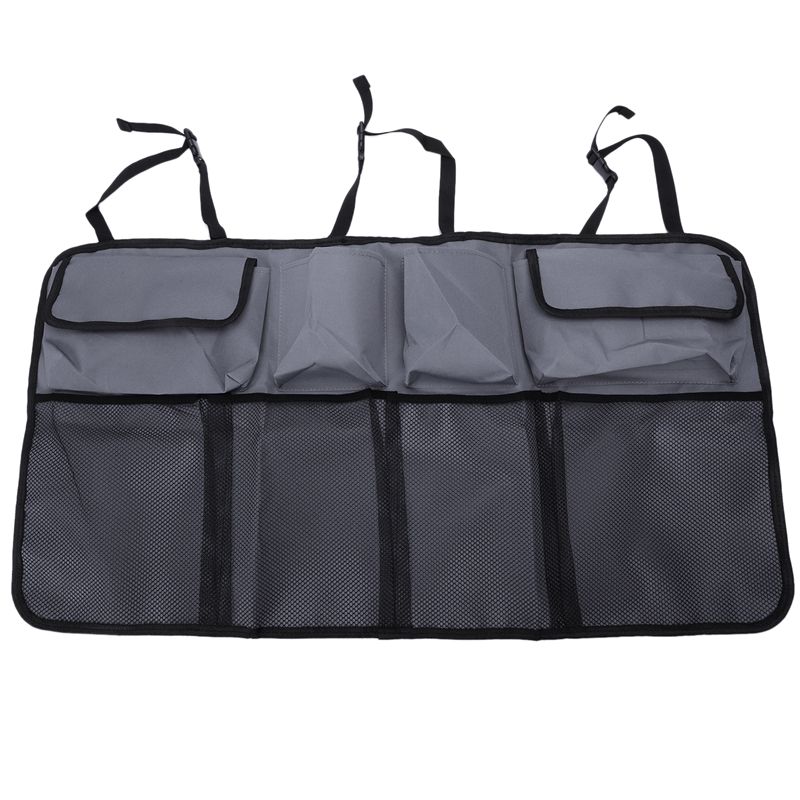 Car Rear Seat Back Storage Bag Multi Hanging Nets Pocket Trunk Bag Organizer Auto Stowing Tidying Interior Accessories Supplie(China)